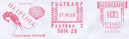 Freistempel Kleiner Ausschnitt 688 Garnele Muschel Niederlande - Affrancature Meccaniche Rosse (EMA)