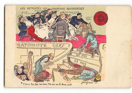 Rare LA LUTTE DES CLASSES Avant LENINE PCF CGT CFDT LES RETRAITES DES FONCTIONS BOURGEOISES MEDEF A VOIR HUMOUR   N235 - Labor Unions