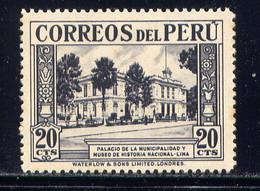 PERU, NO. 364, MH - Peru