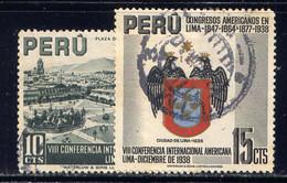 PERU, NO.'S 385-386 - Peru
