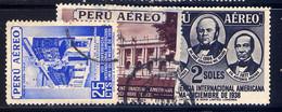 PERU, SET, NO.'S C62-C64 - Peru