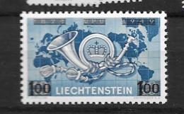 1950 MNH Liechtenstein Mi 288 Postfris** - Unused Stamps