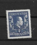 1951 MNH Liechtenstein Mi 304A Perf 12 1/2 : 12  Postfris** - Unused Stamps