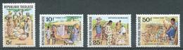 Togo Timbres-taxe YT N°74/77 Activités De Marché Neuf ** - Togo (1960-...)