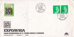 ESPAÑA. EXPOAVIGA 81 SALON INTERNACIONAL DE LA TECNICA AVICOLA Y GANADERA. SPC ANNEE 1980, BARCELONA.- LILHU - Agriculture