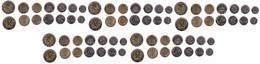 Namibia - 5 Pcs X Set 7 Coins 5 5 10 50 Cents 1 5 10 Dollars 2010 - 2015 UNC Lemberg-Zp - Namibia