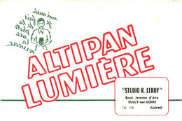 "P Al /13/04/ Buvard Photos ""Altipan Lumière""  (N= 1) - P"