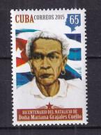 Cuba 2015 Dona Mariana Grajales Coello, 1808-1893 MNH - Unused Stamps