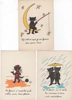 CHATS - ILLUSTRATEUR: BIZ - LOT DE 18 CARTES - - Katten