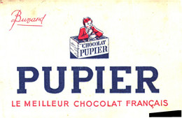 PU /13/04/Buvard Chocolat Pupier (N= 3) - Cocoa & Chocolat