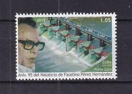 Cuba 2015 95th Birth Anniversary Of Faustino Perez Hernandez (Zaza Dams) MNH - Unused Stamps