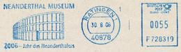 Freistempel Kleiner Ausschnitt 709 Neandertal Museum Ratingen - Machine Stamps (ATM)