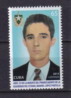 Cuba 2015 55th Death Anniversary Of Manuel López De La Portilla MNH - Unused Stamps