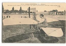 Rare 1913  Aviette CHAUVEAU Dit ZIMMY Aviation Avion A VOIR    Issy-les-Moulineaux Jean Hauser  N235 - ....-1914: Vorläufer