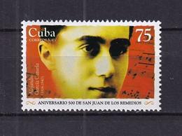 Cuba 2015 Alejandro García Caturla (1906-1940), Composer MNH - Unused Stamps