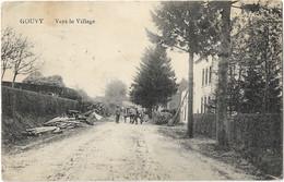 Gouvy - Vers Le Village (Feldpost 22 Inf:Div 14/3) - Gouvy