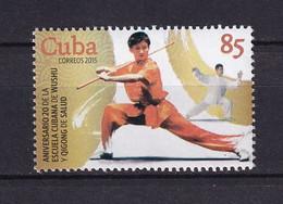 Cuba 2015  Cuban Wushu And Qigong School, 20th Anniv. MNH - Unused Stamps