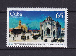Cuba 2015 500th Anniversary Of The City Of San Juan De Los Remedios MNH - Unused Stamps
