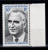 Wallis Et Futuna - YV 189 N** Luxe President Pompidou Cote 8,70 Euros - Ungebraucht