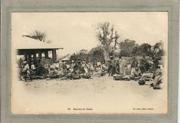 CPA - THIES (Sénégal) - Aspect Du Marché En 1900 - Senegal