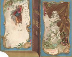MENU #25092 FABLE LA FONTAINE LE LIEVRE ET LA TORTUE SYSTEME 1890 - Menus