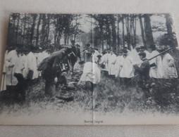 CPA  BATTUE  JUIGNE  1912 - Otros Municipios