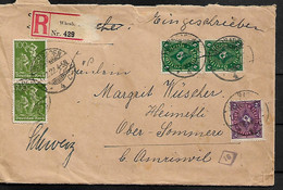 GERMANY 1922 COVER POSTED 5 STAMPS COVER USED - Storia Postale