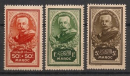 Maroc - 1935 - N°Yv. 150 à 152 - Série Complète - Neuf Luxe ** / MNH / Postfrisch - Neufs