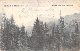 Gruß Aus Den Karparten (Mukatschewe) Feldpost 1915 - Ukraine