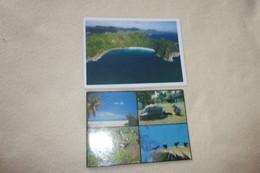 LOT DE 2 CARTES ...BIRD ISLAND ..ET VUE AERIENNE - Seychelles