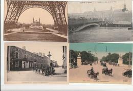 Lot De 1000 De FRANCE -Cpa Et Cpsm 9x14 - 500 Postcards Min.
