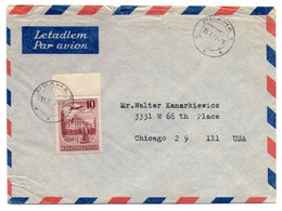 Czechoslovakia 1952, Airmail Sent From Prague On 10/13/1952 To Chicago, United States - Covers & Documents