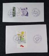 France 2021 - Le Petit Prince  75 Ans Et Charles Baudelaire 2 Timbres Oblitérés - Used Stamps