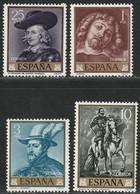 1962. ** Edifil: 1434/37. RUBENS - 1961-70 Neufs