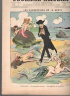 LE JOURNAL AMUSANT 1906 Sirène PREJELAN Illustrateur LOURDEY 3 Scans - Revistas - Antes 1900