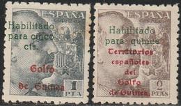 1949. * Edifil: GUINEA 273/74 - Guinée Espagnole