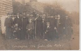 LIMOGES   LA ROCHE AU GO  (campagne 1914  Gardes Voies - Postes ) CARTE PHOTO - Other Municipalities