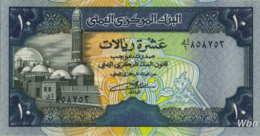 Yemen 10 Rials (P24) Sign 8 -UNC- - Yemen