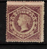 NSW 1860 6d Mauve P12 SG 147 HM #BQX15 - Mint Stamps