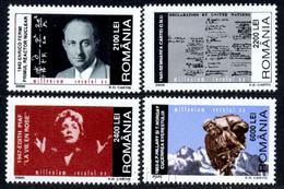 2000 Fermi, Nuclear, Piaf, Hillary, Mount Everest, UNO, Kiss Gate, Romania, Mi.5504,MNH - Unused Stamps