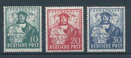 Bizone 1949, Exportmesse Hannover, Mi.-Nr. 103-105 Kpl. Satz 3 Werte  ** - Bizone