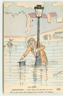 A. Sauvage - ELD - La Crue - Inondations 1910 - Dupochard - D'un Côté, C'est Chouette, La Crue - Andere Illustrators