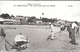CPA-1910-GABON-LIBREVILLE-Vue D Ensemble Prise Du Wharf-Edit Bloc Freres-Bordeaux-TBE - Gabon