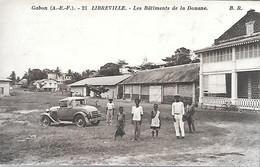 CPA-1910-GABON-LIBREVILLE-Les Batiments De La Douane-Edit Bloc Freres-Bordeaux-TBE - Gabon