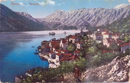 Seltene ALTE  AK   PERAST / Montenegro   - Teilansicht - Gelaufen 1912 - Montenegro