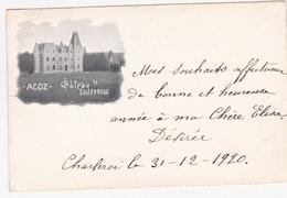 48119 -   Acoz  Chateau  De Lausprelle - Gerpinnes