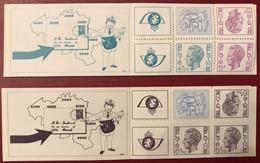 BOEKJE 12 + BOEKJE 13 XX MNH UIT 1975 - Postzegelboekjes 1953-....