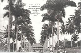 CPA-1910-GABON-LIBREVILLE-Entrée De La  Mission Ste Marie-sous Le Palmiers Royaux-Edit Bloc Freres-Bordeaux-TBE - Gabon