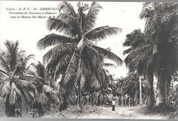 CPA-1910-GABON-LIBREVILLE-Plantations De Cocotiers Et Palmiers Dans La  Mission Ste Marie--Edit Bloc Freres-Bordeaux-TBE - Gabon