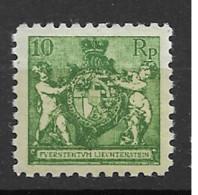 1921 MNH Liechtenstein Mi 50-A Postfris** - Ungebraucht